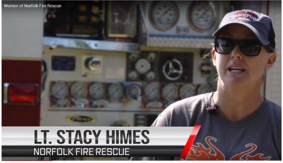 The Women of Norfolk Fire-Rescue