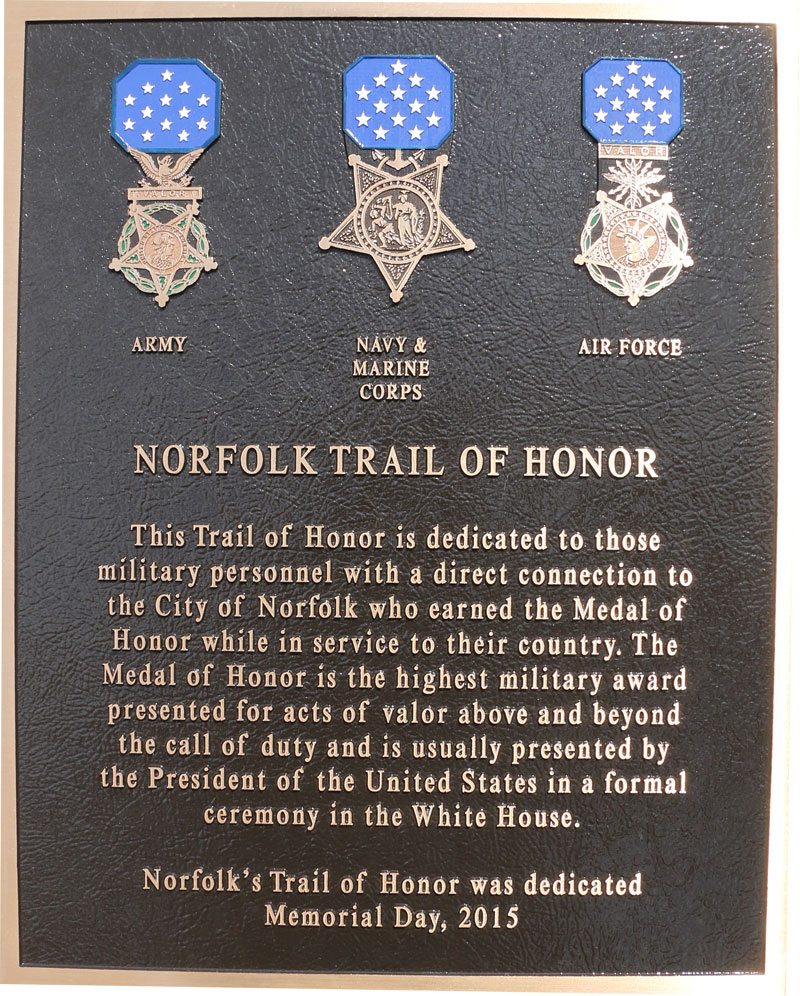 Trail of Honor Opens in new window