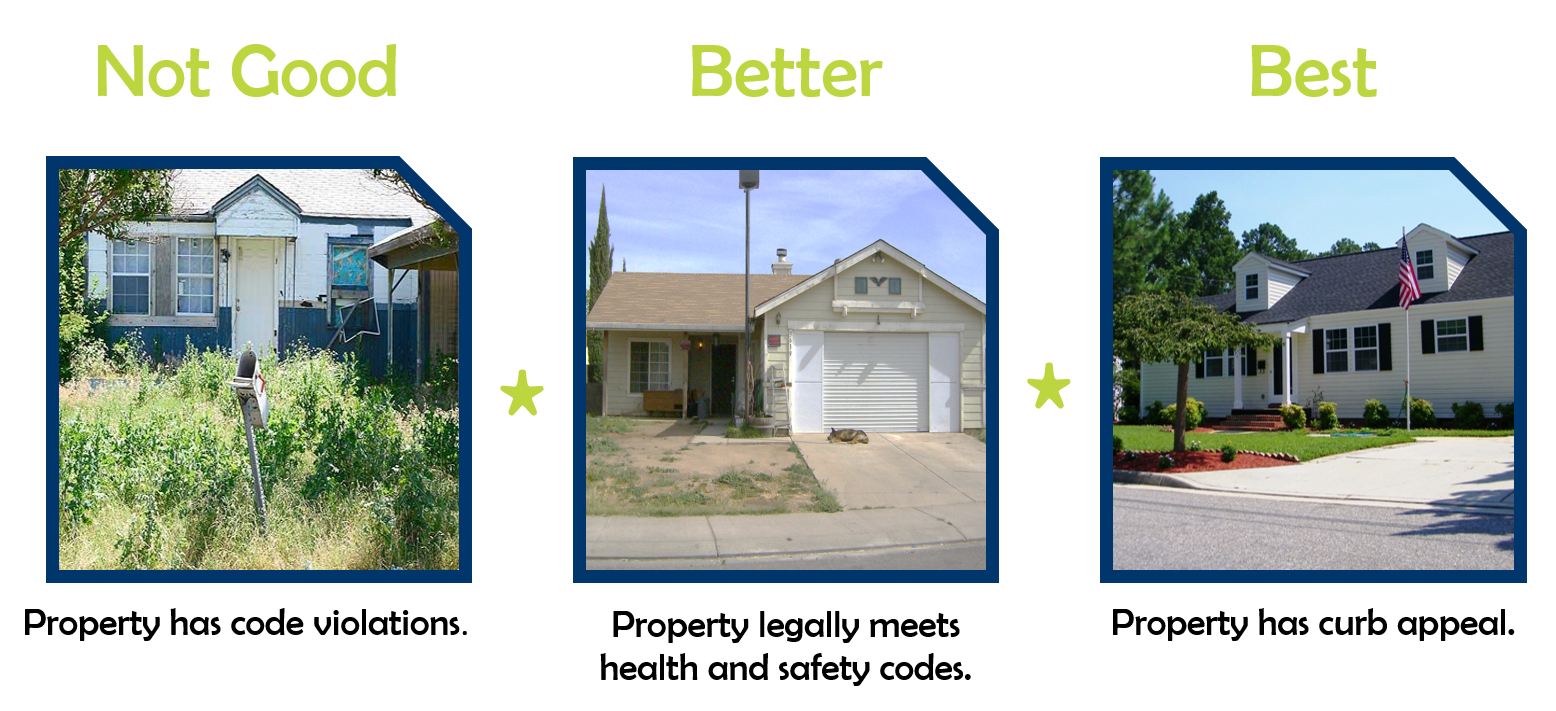 Curb appeal graphic