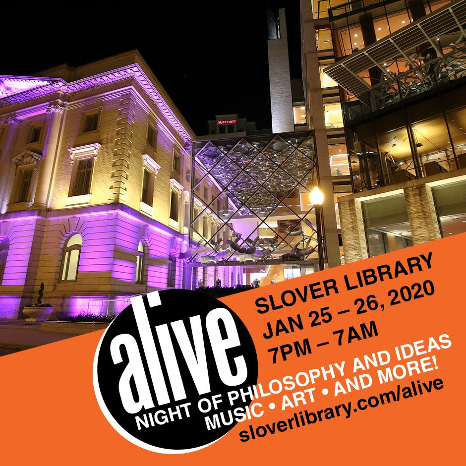 Night of Philosophy and Ideas at Slover Library