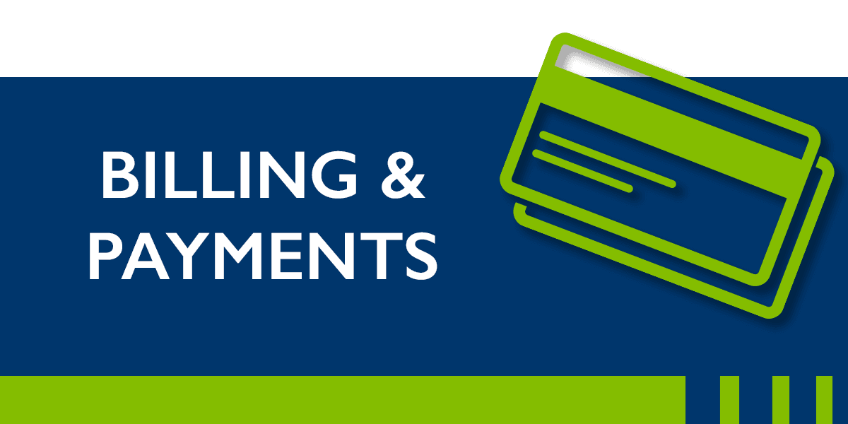 Utilities Billing and Payments Button