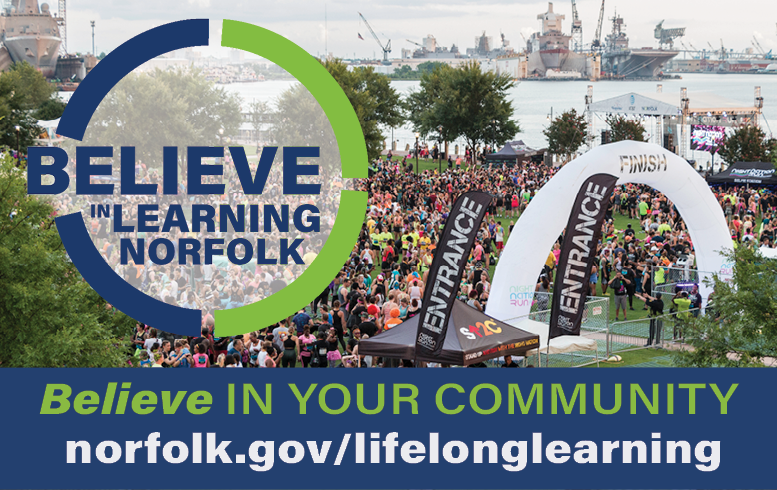 Lifelong Learning Believe in Your Community Image