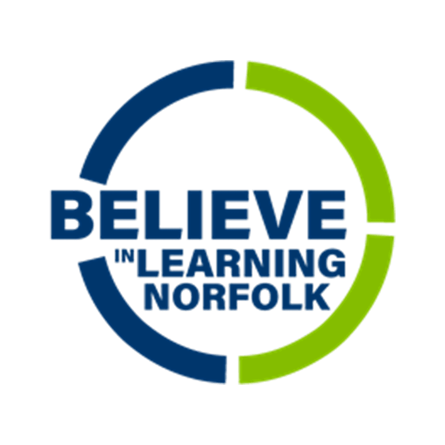 Believe In Learning Norfolk Image Button