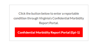 Confidential Morbidity Report Portal