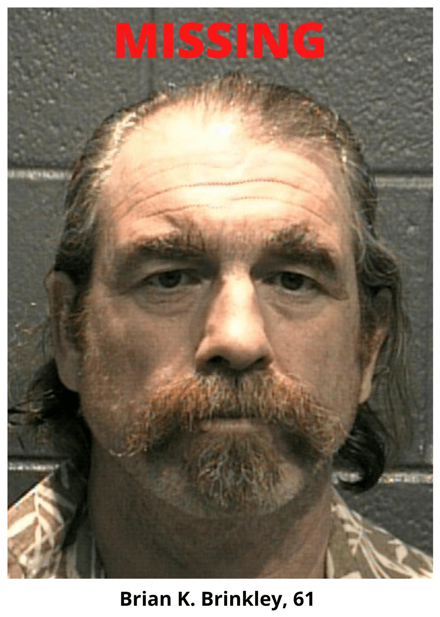 Missing Person Brian K Brinkley