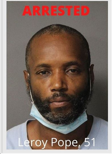 ARRESTED Leroy Pope - release photo