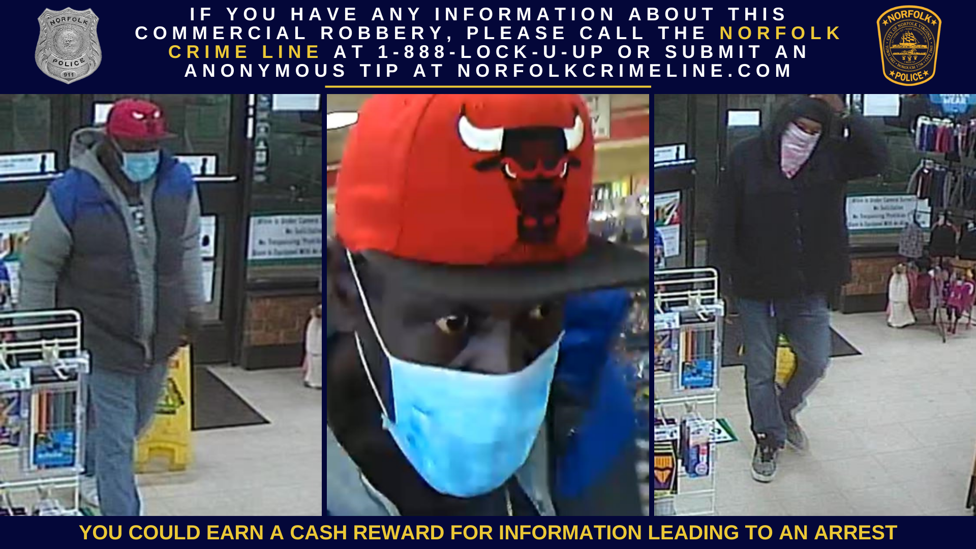 Commercial Robbery Suspects 111320