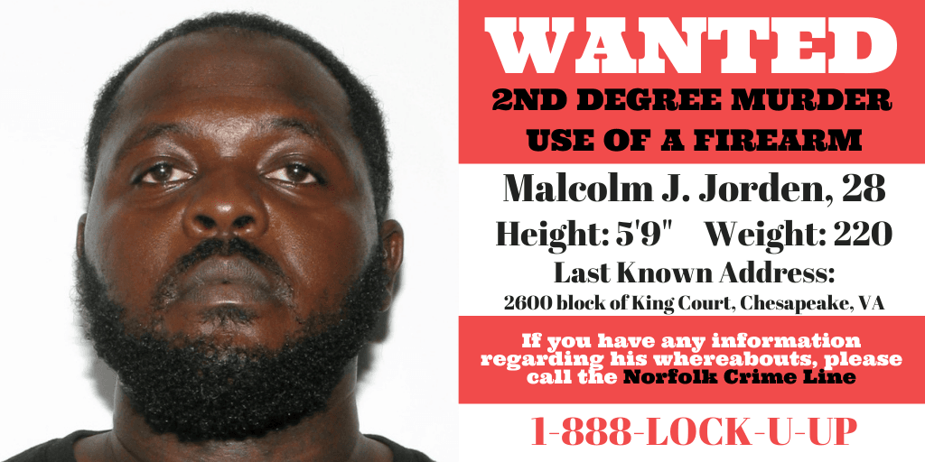 Wanted Photo - Malcolm Jorden