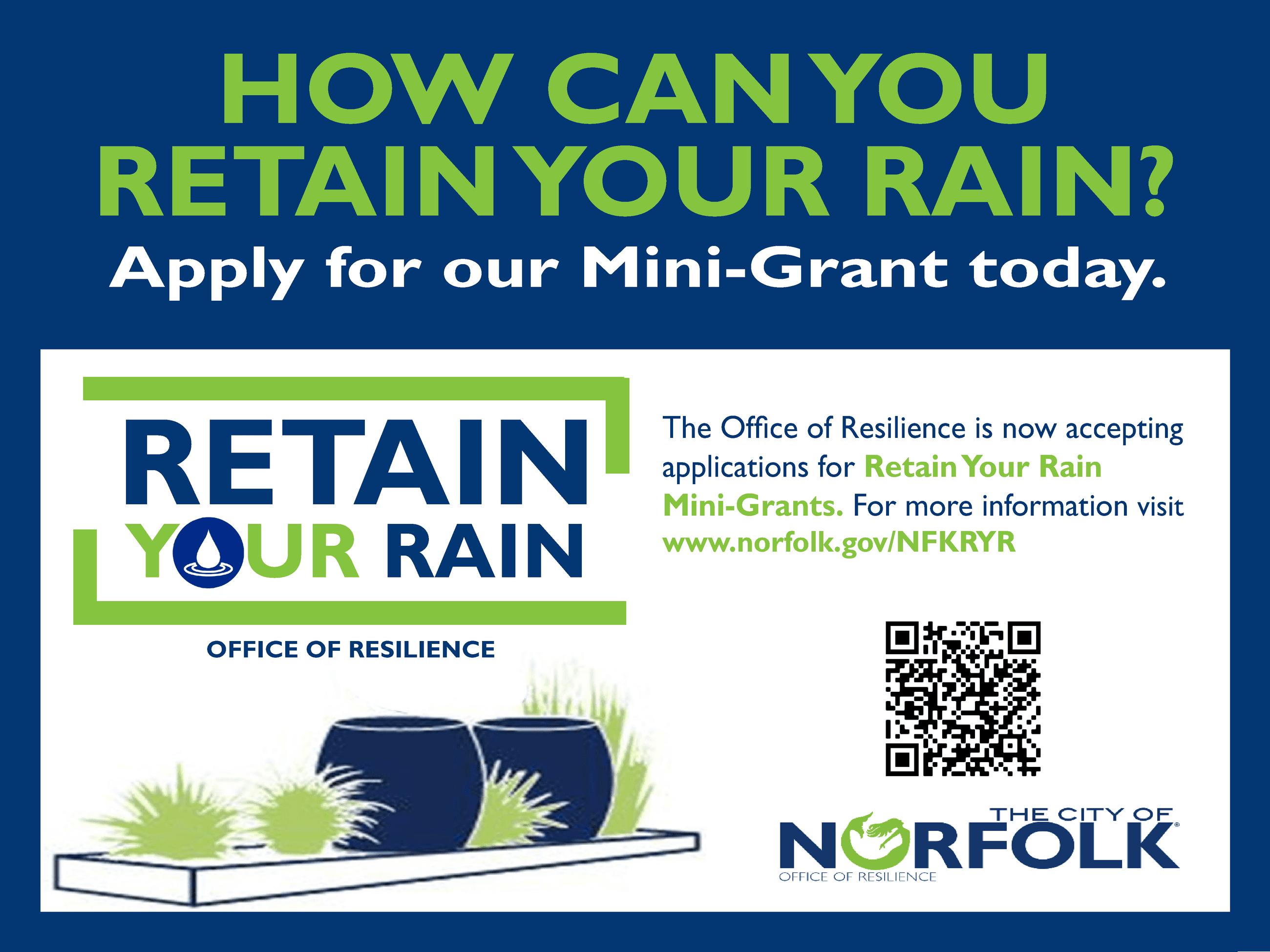 Retain Your Rain Mini Grant