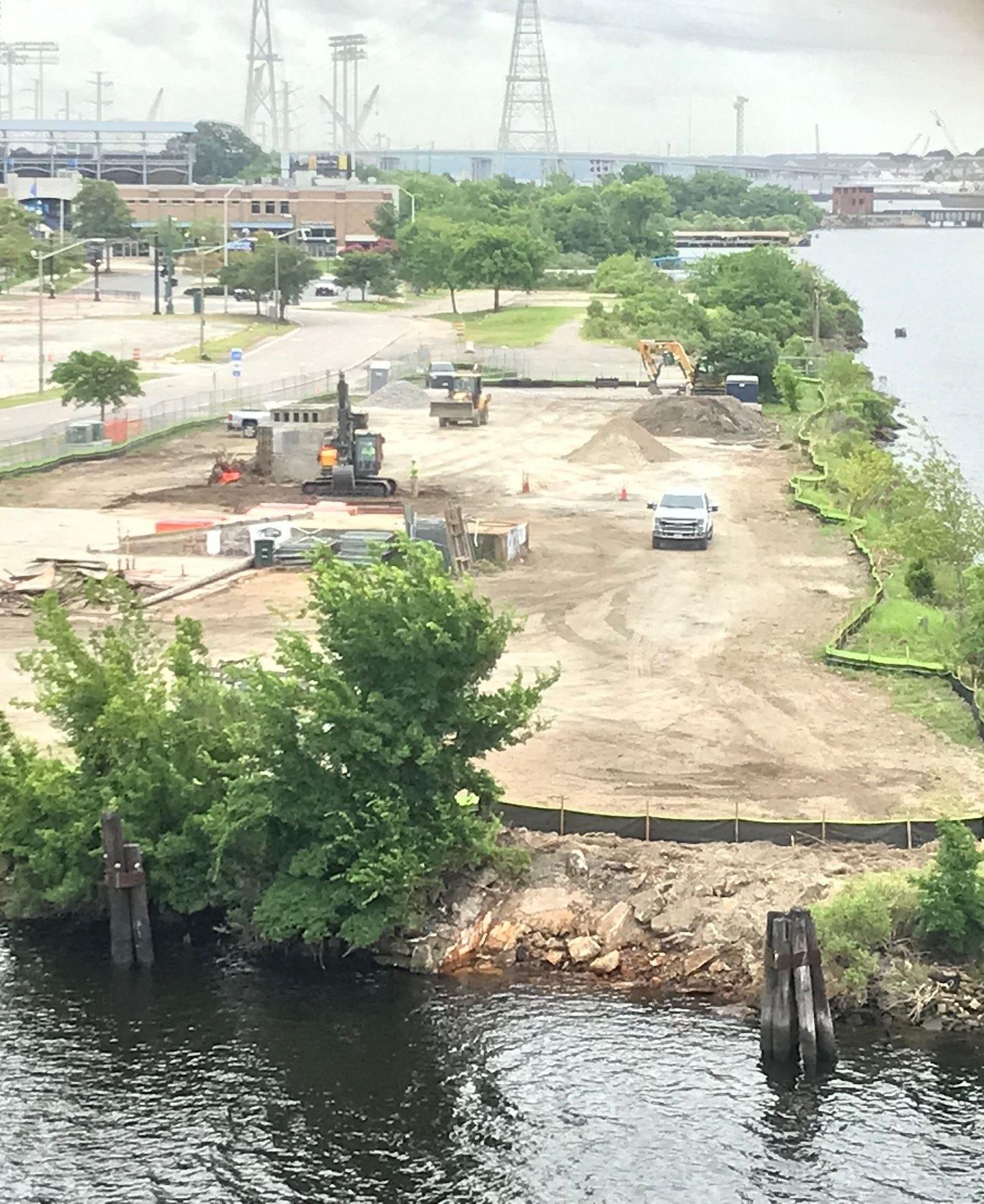 Water Street Open July 2021 Construction