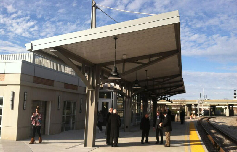Amtrak Station Platform