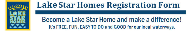 Lake Star Homes Registration Form