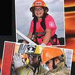 kids in firefighter gear