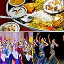 poster of dancers and food