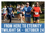 From Hre to Eternity Twilight 5K Race, October 24, 2015 at Elmwood and West Point Cemeteries
