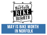 May is Bike Month in Norfolk