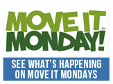 Check out what is happening on Move It Mondays