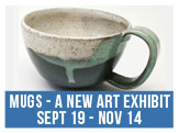 Artists elevate the ordinary in this new exhibition featuring the humble, sometimes amusing, and serviceable mug thru Nov 14