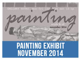 Painting Exhibit, Acrylic and Oil, November 2014 at the Paul Street Gallery, Titustown Recreation and Visual Arts Center