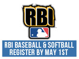 RBI Baseball and Softball - Register by May 1st, 2015