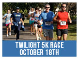 Register for the Twilight 5K Race October 18th.