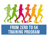 Get ready for the upcoming 5K, Join the Zero to 5K Training Program