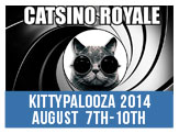 Catsino Royale, Aug 7-10 - 35 dollar cat and kitten adoptions.  Spin our roulette wheel for even bigger discounts