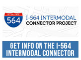Get information on the I-564 Intermodal Connector