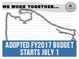 Adopted FY2017 Budget Starts July