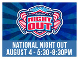 NAtional Night Out, August 4th 5.30-8.30pm Northside Park