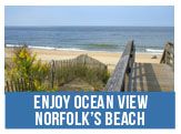 Enjoy Ocean View, Norfolk's beach