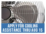 Apply for Cooling Assistance Now Through August 15, 2015