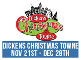 Dickens Christmas Towne, November 21 - December 28, Half Moone Celebration Center