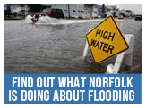 Get information on flooding issues in Norfolk
