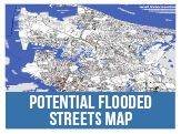 Potential Flooded Streets Map