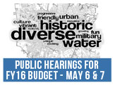FY2016 Budget Public Hearings, May 6 and 7 at 6pm at Granby High School