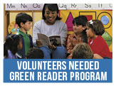 Volunteers Needed for Our Green Reader Program in Norfolk Public Schools by February 24