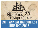 39th Annual Harborfest on the Norfolk Waterfront, June 5-7, 2015