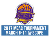2017 MEAC Basketball Tournametn, March 6-11 at Norfolk Scope