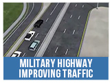 Military Highway Improving Traffic