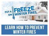 Put the Freeze on Winter Fires
