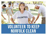 Volunteer to Keep Norfolk Clean