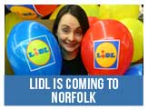 LiDl Gocery Stores is coming to Norfolk, be part of the team.