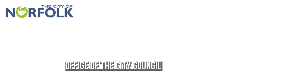 City of Norfolk, Virginia - Official Website - City Council