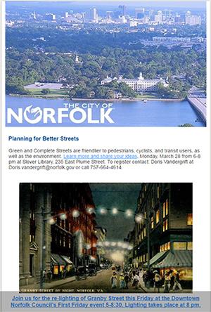 City of Norfolk Newsletter