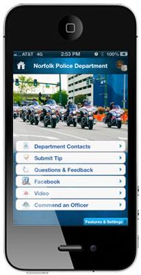 MyPD app for Smartphones