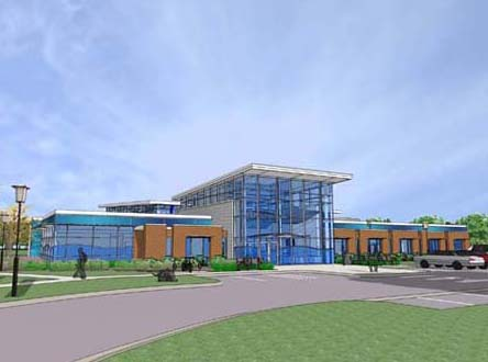 Southside Aquatic Center rendering