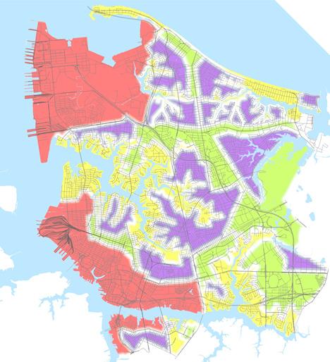 Vision 2100 Map