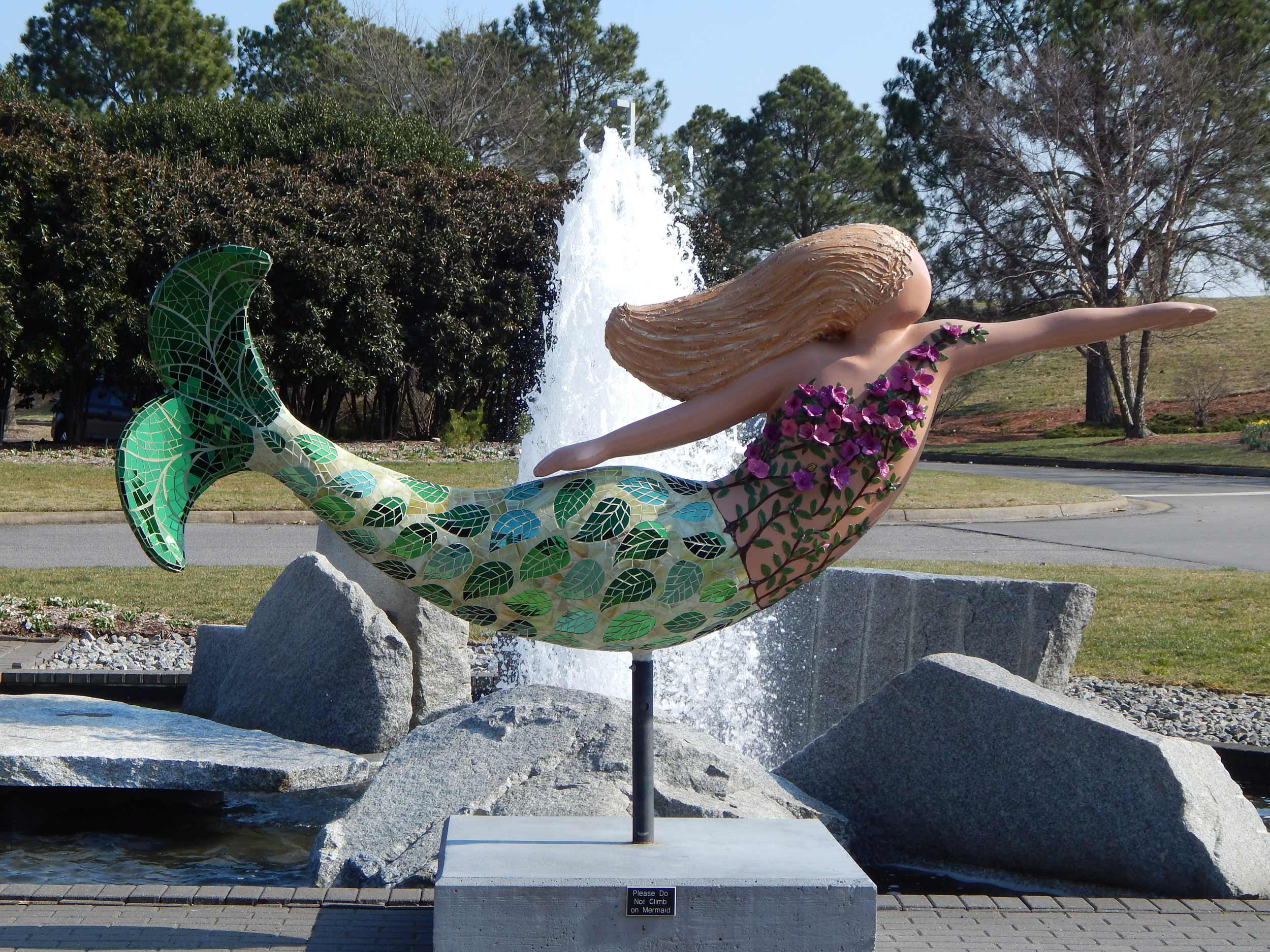 Botanical Gardens Mermaid