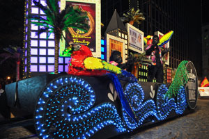 Grand Illumination Parade, Saturday, November 21, 2015 at 7pm